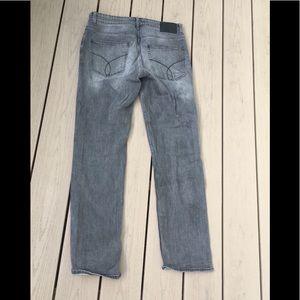 Calvin Klein Gray Jeans